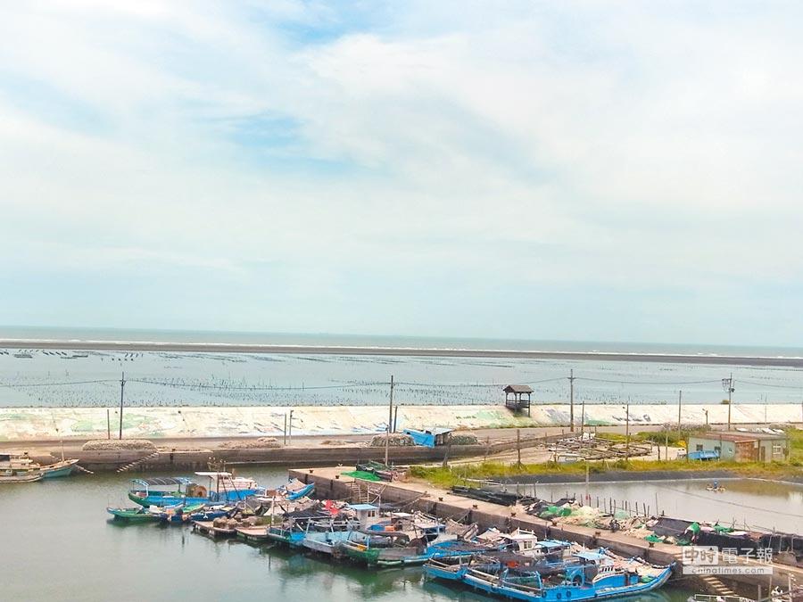 箔子寮漁港淤沙嚴重,漁會籲4單位協助解決。(張朝欣攝)