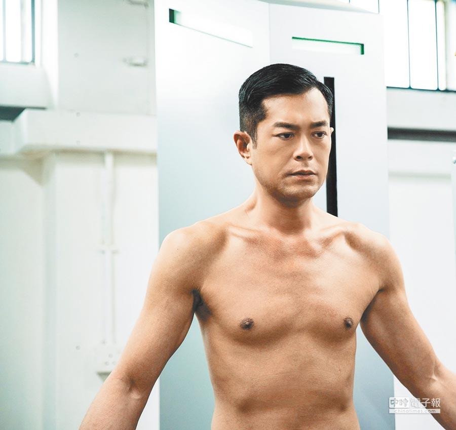 古天樂在片中展現黝黑皮膚和精瘦身材。