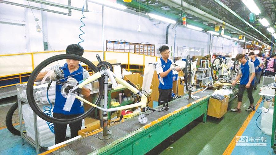中美貿易戰對台灣自行車業影響不會太大。(本報系資料照片)