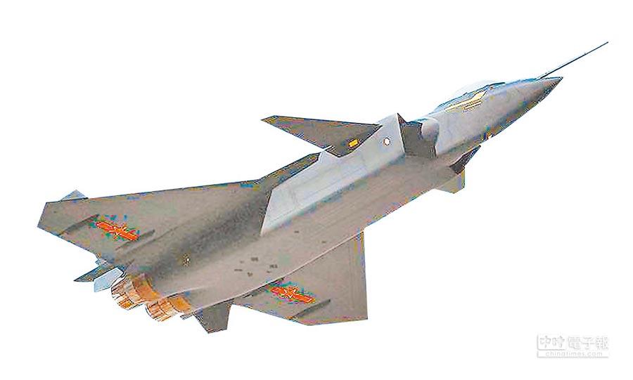 解放軍殲-20戰鬥機。(本報系資料照片)