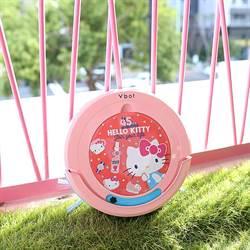 台灣松騰與Hello Kitty 合推限量版掃吸擦地機器人