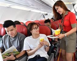 越捷航空推120萬張0元起促銷機票 搶夏天商機