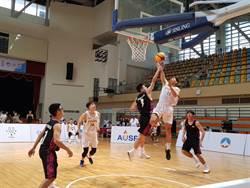 影》亞洲大學三對三籃球賽 輔仁外線砲轟對手