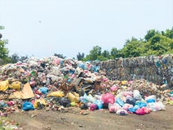 湖口垃圾成山 3000噸無處去