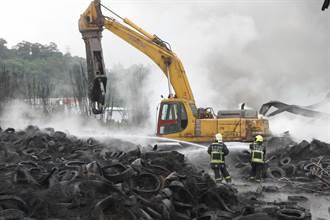 廢棄輪胎倉庫大火 盧秀燕:不能再允許繼續經營