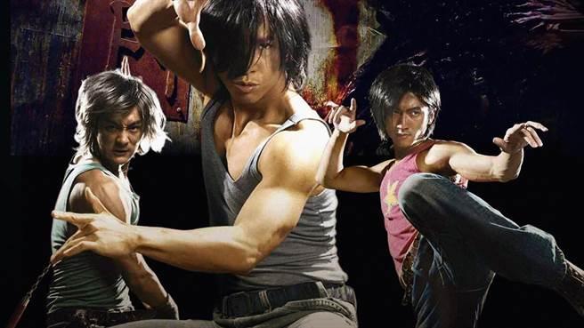 甄子丹和謝霆鋒新片還在拍攝中,粉絲只能透過14年前的《龍虎鬥》劇照想像2人合作畫面,右邊余文樂。(資料照)