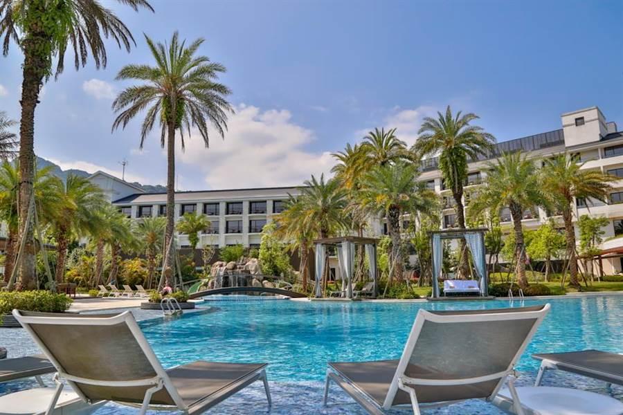 桃園大溪威斯汀度假酒店自即起舉辦線上旅展,推出各項優惠促銷住房與餐飲。(圖/大溪威斯汀度假酒店)