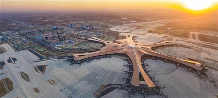 北京大興機場。(圖片摘自網路)