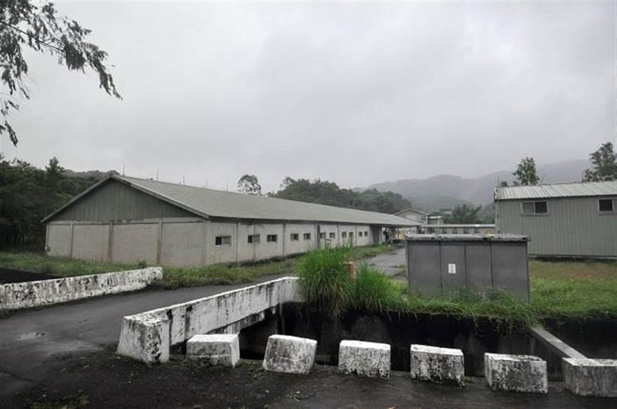 圖為202兵工廠,火工區廠房。(資料照,王英豪攝)