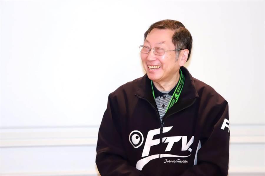 廖季方確定出任民視總經理一職。(圖片提供:民視)