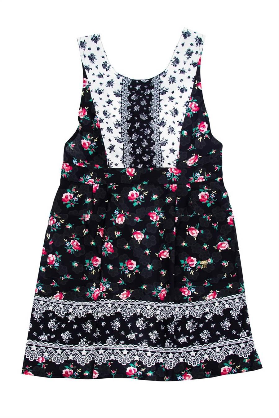 ANNA SUI優雅花舞圍裙,3390元。(滿心提供)
