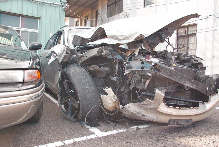吳男去年酒駕撞死楊姓女駕駛,遭判4111萬元民事賠償。(何冠嫻翻攝)