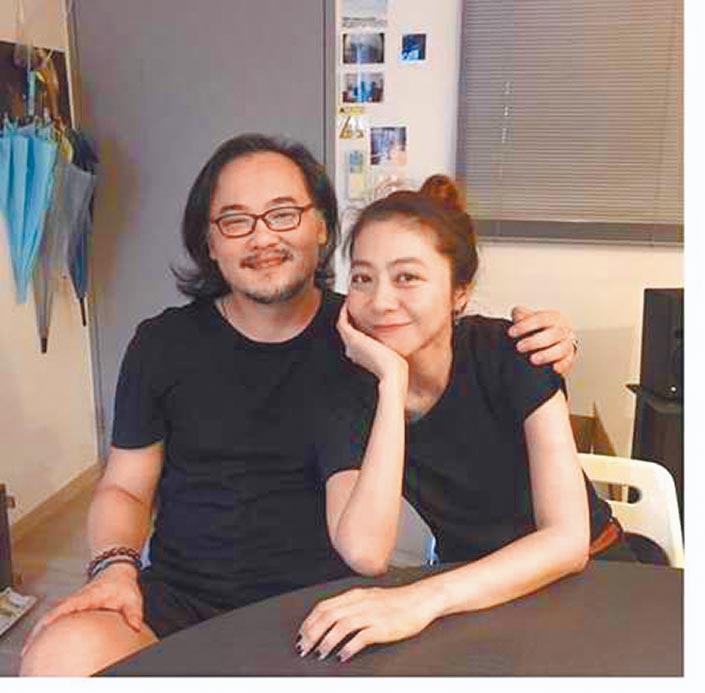 陳綺貞(右)與鍾成虎昨分別在IG和臉書上傳合照證明好關係。(取材自IG)