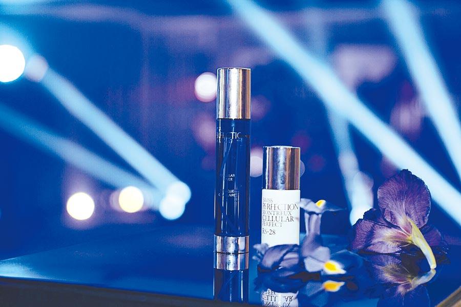 受到女星潔西卡艾芭青睞,耗時16年研發打造「鉑金瑞士Swiss Perfection」品牌,今年9月正式開櫃。(Swiss Perfection提供)