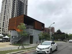 竹市府後街停車場改善工程完工  等你來登高瞭望
