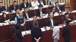 綠議員總質詢 不等韓國瑜講話集體離席