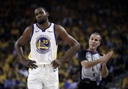 NBA》科爾:杜蘭特G6出賽機率很低