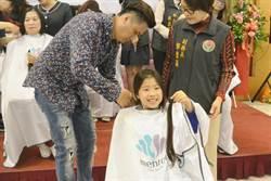 醫護獻髮慶護理師節  7歲童捐髮:因為想幫助人