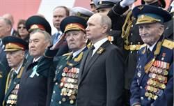 俄國勝利日遊行 慶祝衛國戰爭74週年