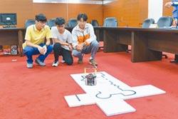 苗栗學子金讚 揚威星洲機器人賽