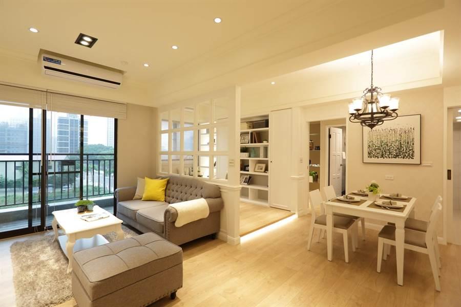 「讀樂樂」房型訴求「不用再加一」,住宅空間無需再委屈。圖/易繼中攝
