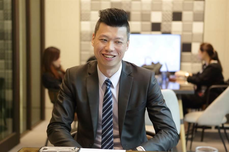 張鈞凱表示,目前房市回溫加上及房貸利率低,民眾租不如買。圖/易繼中攝