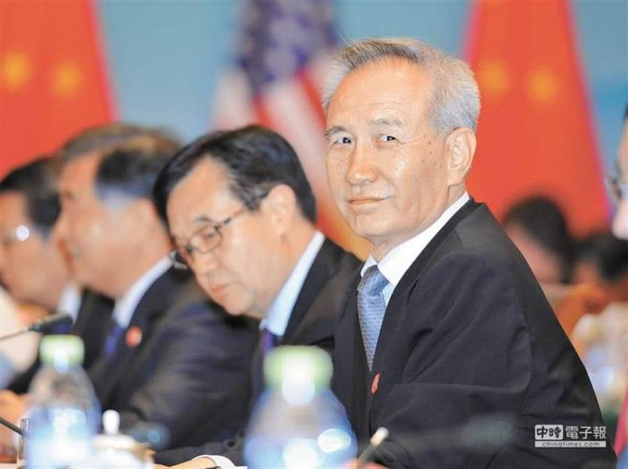 陸方貿易談判首席代表、國務院副總理劉鶴。(中新社資料照片)