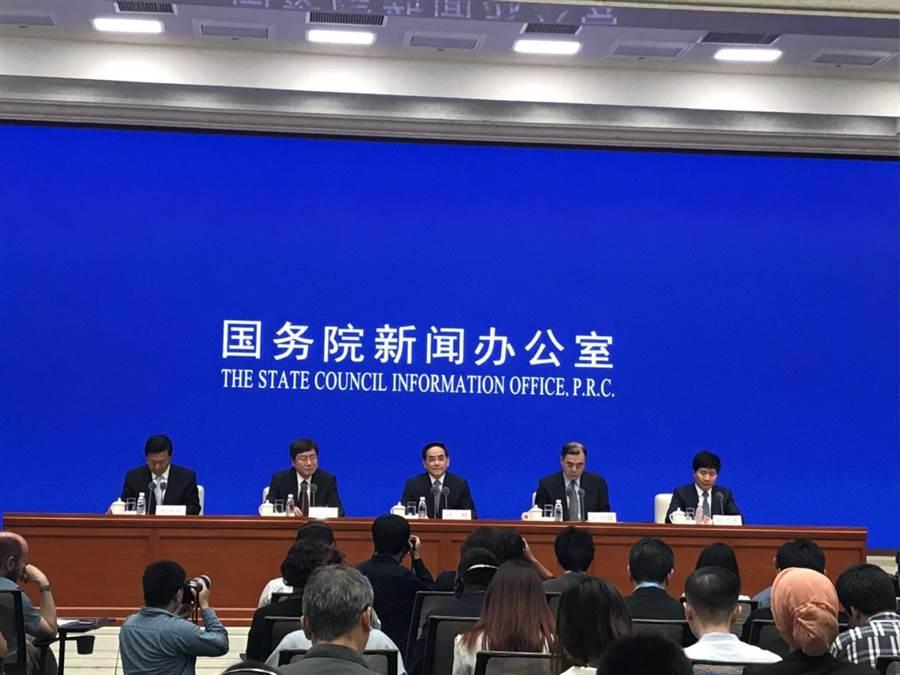 亞洲文明對話大會舉行新聞發布會。(記者呂佳蓉/攝)