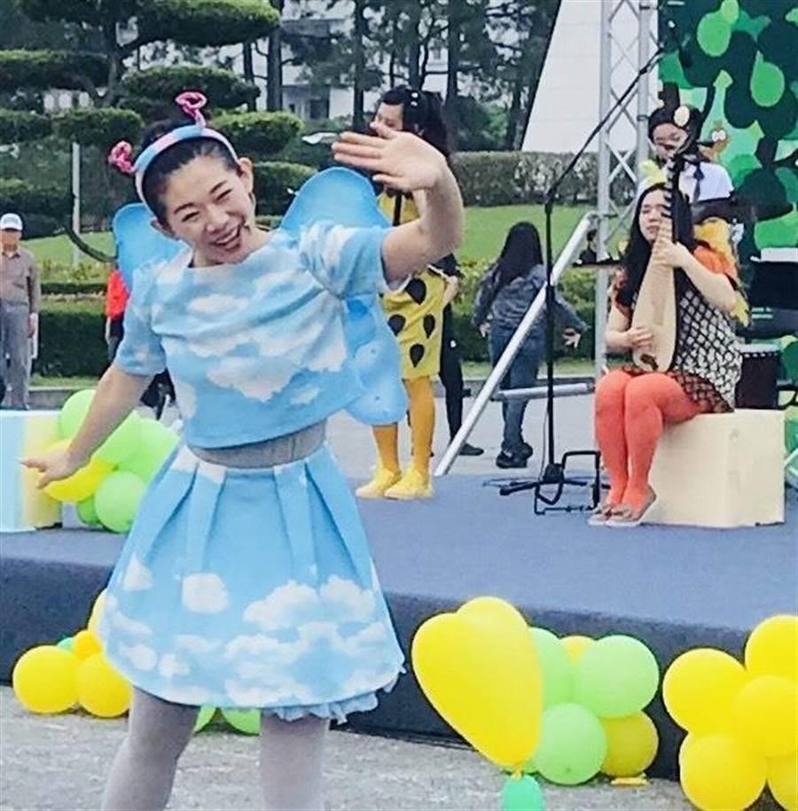 靈鷲山5月25日將在高雄巨蛋舉辦「皮卡克親子迎佛音樂市集」。(葉書宏翻攝)