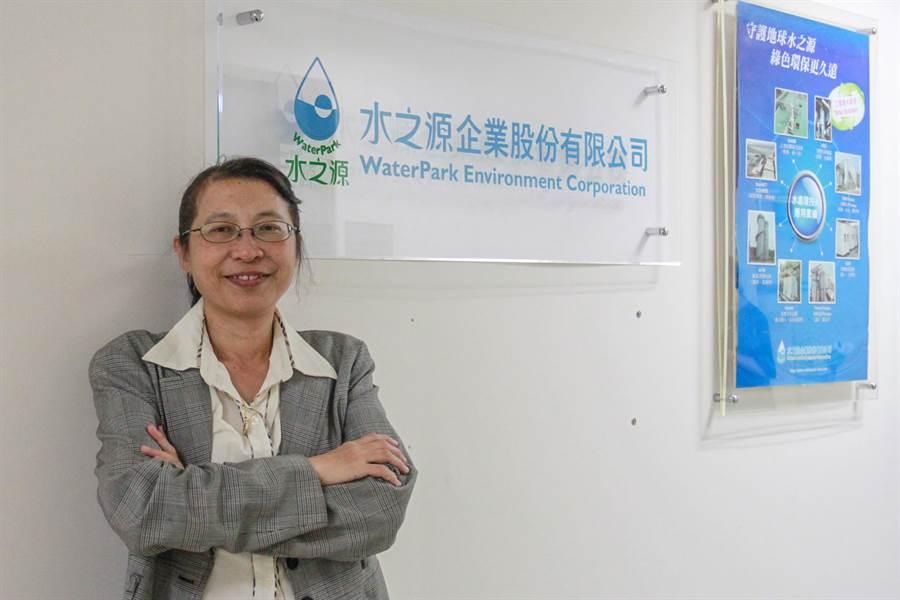水資源董事長周珊珊回首創業路說「對的事,做就對了!」(羅浚濱攝)