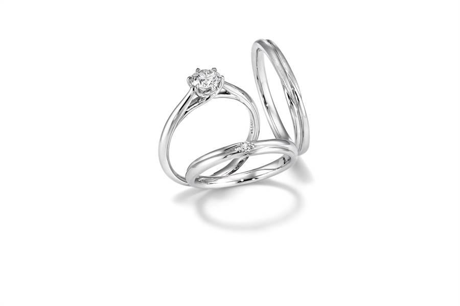 銀座白石在母親節推出鑽戒9折、滿5000元送200元的優惠。(GINZA DIAMOND SHIRAISHI提供)