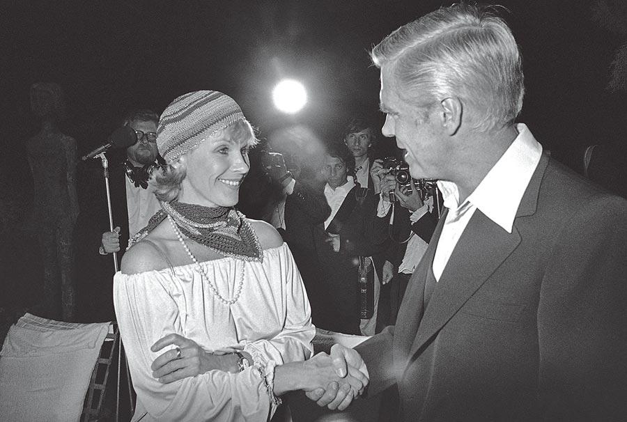 比比安德森(左)。(美聯社)