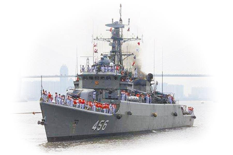 泰國參演艦艇。