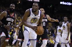 NBA》杜蘭特可能缺席西決前兩戰