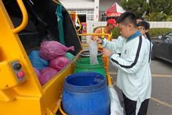 雲林垃圾破袋稽查    紙容器、廚餘被當垃圾最多