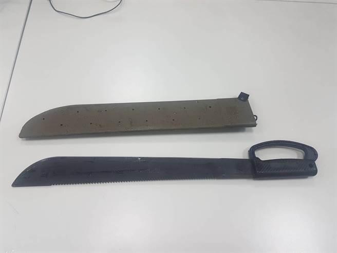 1981年合庫運鈔車搶案,開山刀是歹徒行搶的凶器之一。(示意圖/中時資料照)