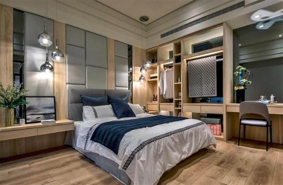 圖說:空間規劃經過反覆推敲,設計出最寬敞舒適的尺度。(圖/業者提供)