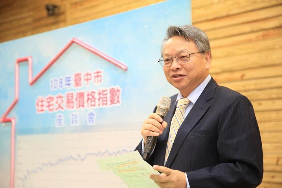 台中市副市長令狐榮達指出,台中市不動產蓬勃發展,不動產業菁英在不動產業上中下游扮演著不可或缺的關鍵角色。(盧金足攝)