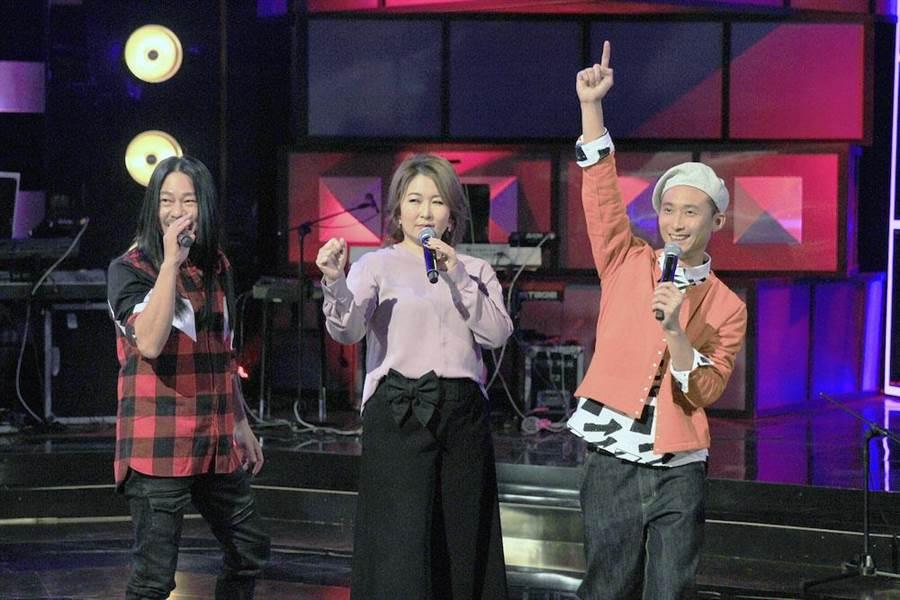 亂彈阿翔(左起)、張秀卿、浩子日前在節目大談厭世歌單。(圖片提供:公視)