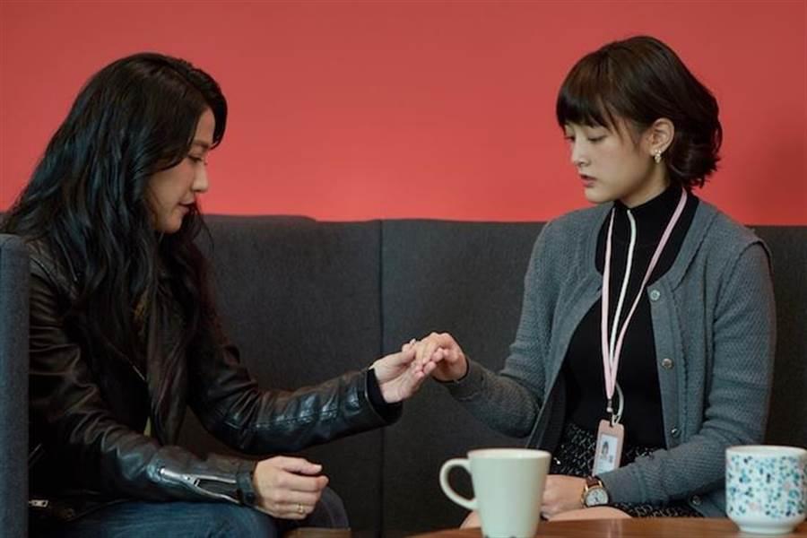 王傳一戲裡老婆找王淨面對面對峙。