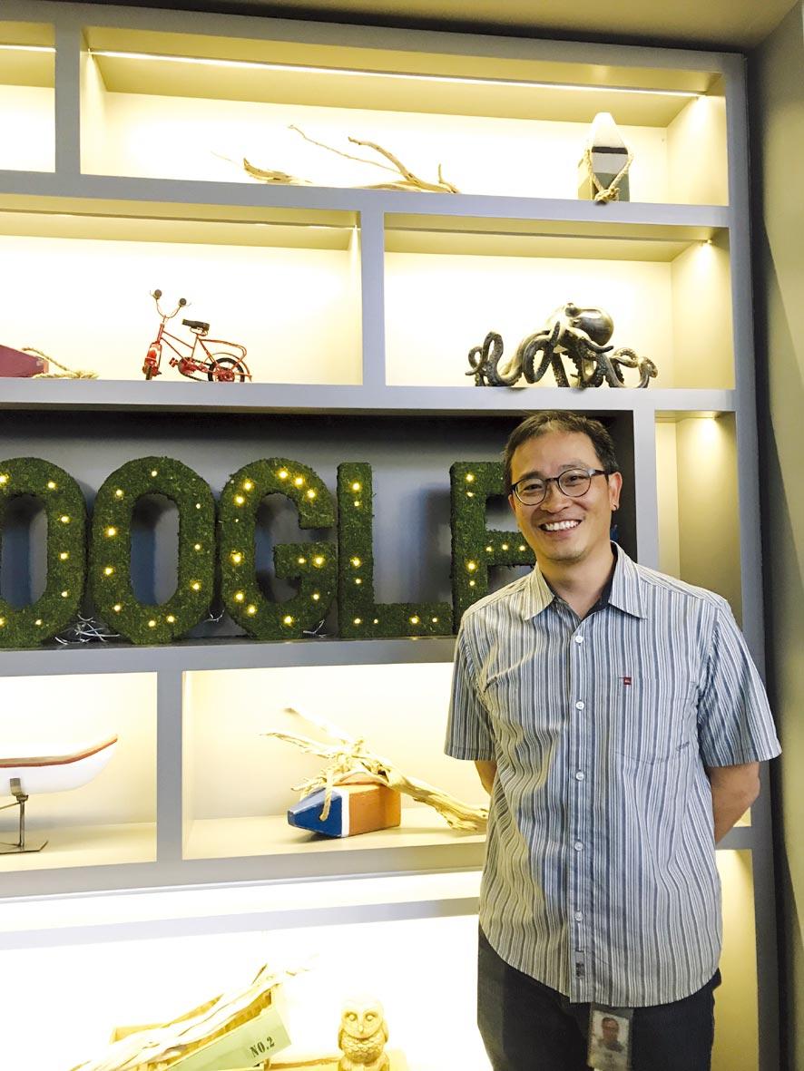 Google AI首席研究員紀懷新。圖/吳筱雯