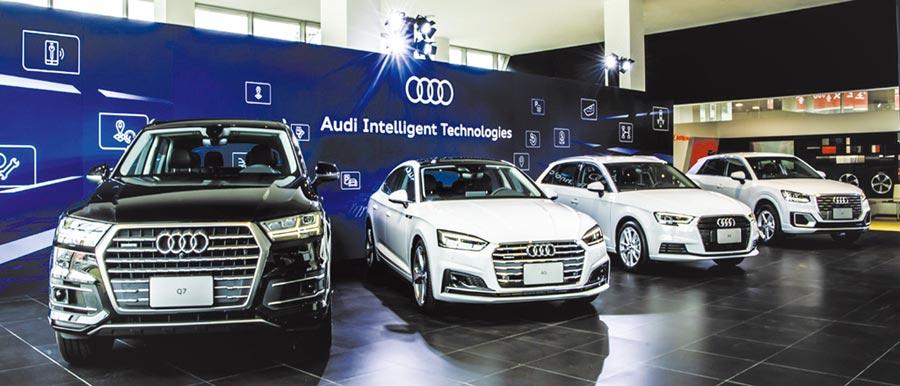 台灣奧迪即日起推出全新19年式Audi Q2、A3 Sportback、A5 Sportback與Q7車款,安全科技全面升級再進化;透過極具競爭力的價格與配備升級,結合卓越動力表現與智慧行車資訊系統,打造更安心、便利的行車體驗。圖/陳慶琪