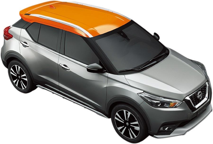 NISSAN KICKS勇奪「車訊風雲獎」2019年度風雲車三冠王大獎,限量推出300台NISSAN KICKS「完全制霸版」特仕車。圖/裕隆日產提供
