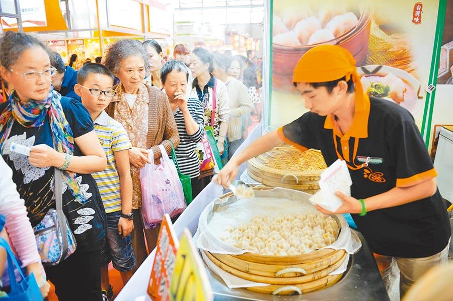雲南惠台75條開放力度之大、交流範圍之廣前所未有。圖為雲南台灣名品博覽會。(中新社資料照片)