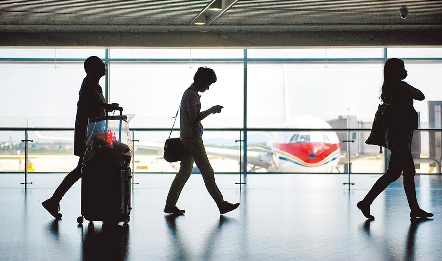 北京大興國際機場投入營運進入倒數計時,圖為示意圖。(新華社資料照片)
