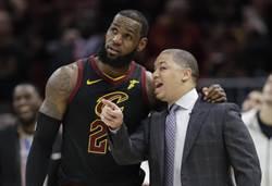 NBA》傳騎士摘教頭貝萊恩烏紗帽 助教塔夫接掌兵符