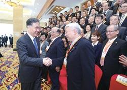 兩岸媒體人峰會開幕 汪洋、劉結一盼促進和平