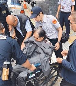 住院一星期 80歲張俊宏發監服刑