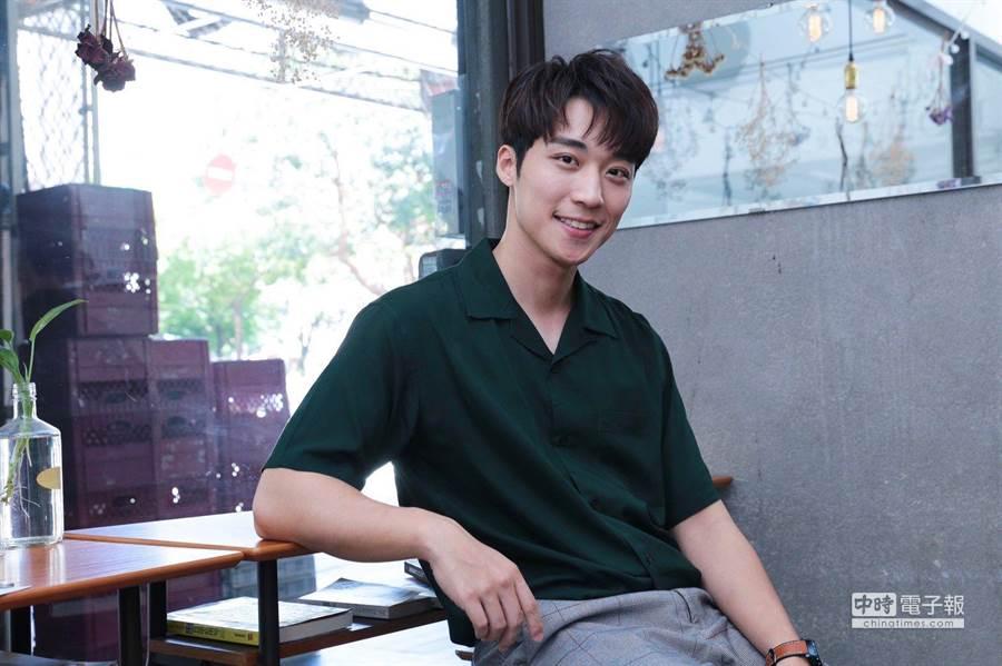 男星卞慶華在新戲《圈套》中挑戰暗黑神秘角色,只有遇上心愛的對象才會露出本色。(圖/記者廖映翔攝)