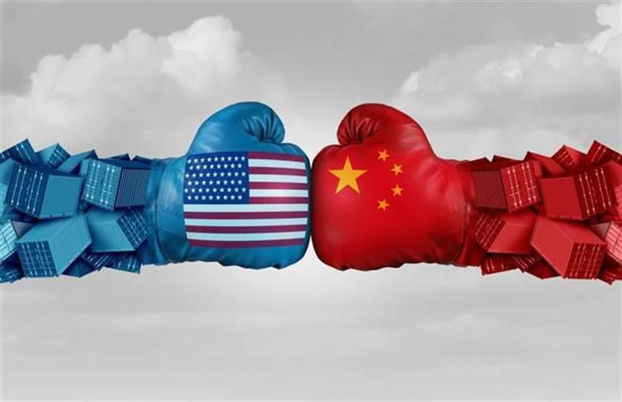 美中貿易談判(達志影像)